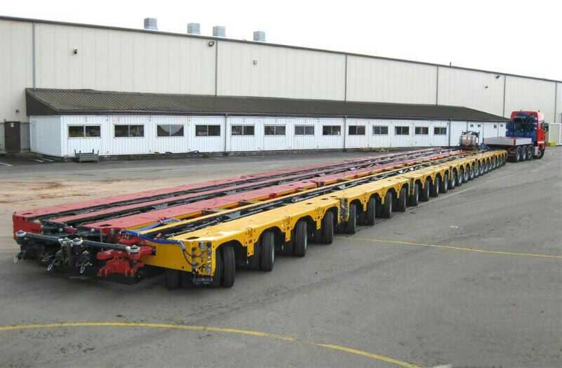 Перевозка сверхтяжёлых грузов